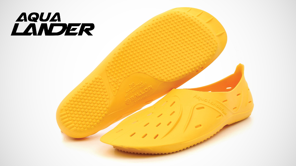 Aqualander has created water shoes to protect you while running and walking