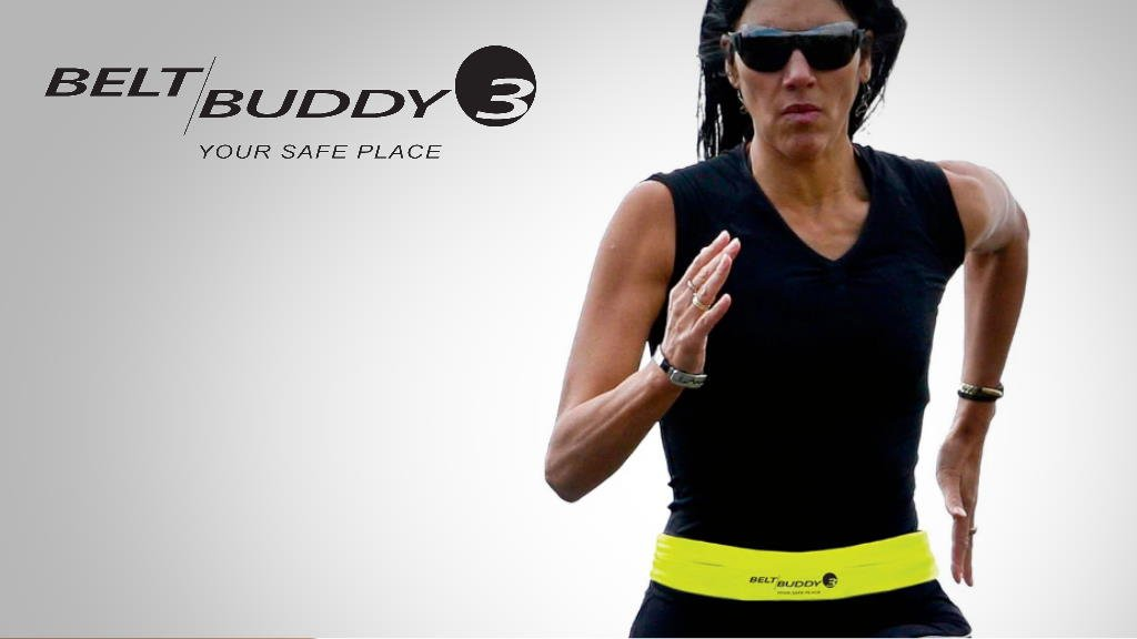 Belt Buddy is the ultimate running belt.