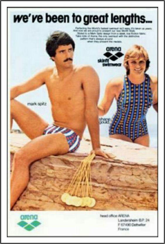 Mark Spitz and Shane Gould Arena Swimwear