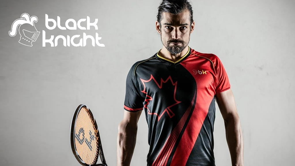 Black Knight squash equipment